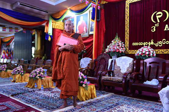 Buddhist Leader Spreads Hatred of Muslims in Myanmar BN VN951 BURMAM G 20171011151509