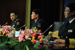 [China Rear Adm. Xiao Xinnian,]