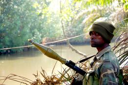 [Nigerian soldier]