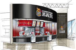 un Whopper Bar