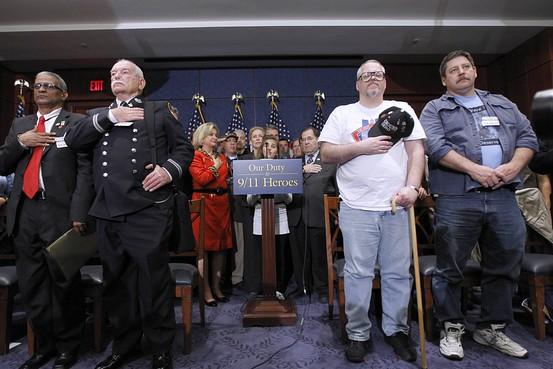 Ground Zero Workers Go Lobbying in D.C. - WSJ