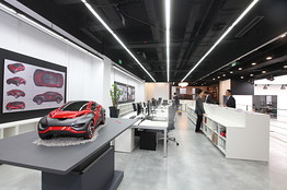Delayed By Quake Nissan Design Center Gets Formal Opening  China Real Time Report  WSJ