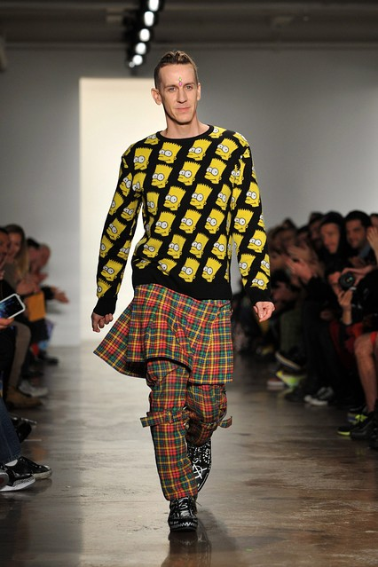 Bart Simpson Goes High Fashion at Jeremy Scott  Heard on