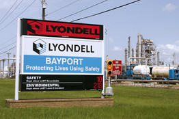 [LyondellBasell, which has large U.S. operations, has told lenders it is trying to line up as much as $2 billion in bankruptcy financing.]
