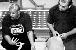 [Homeboy Industries, a Los Angeles nonprofit, helps prepare students to enter the 'green-collar' work force]