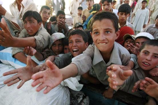 Pakistani children