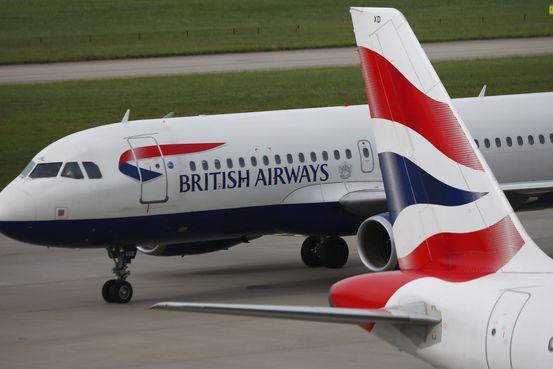英國航空公司因飛行員罷工取消近100%的航班 - 華爾街日報
