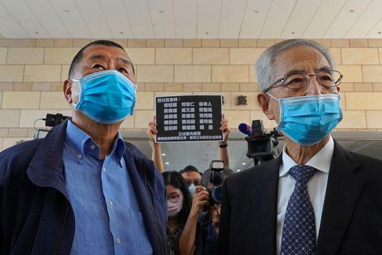 七名香港資深民主活動人士因2019年大規模抗議活動被裁決有罪 - 華爾街日報