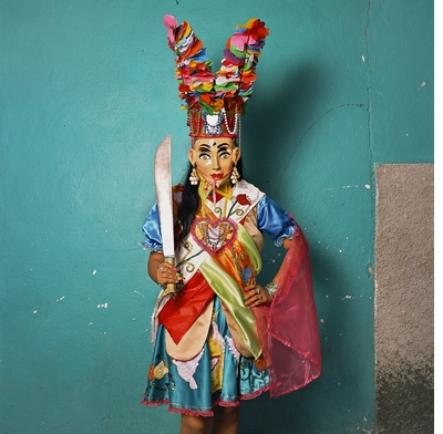 In Phyllis Galembo's new book on the mask cultures of Mexico, ritual object and corporal body become one