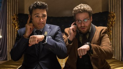 Seth Rogen and James Franco attempt to murder Kim Jong-Un in comedy The Interview