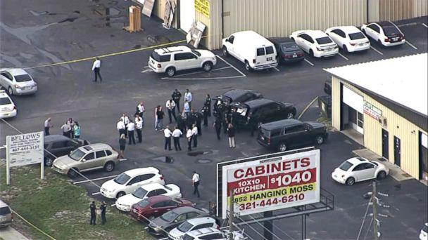 PHOTO: Multiple people were killed from a shooting near Orlando, Fla., June 5, 2017. (WFTV)
