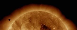 Tránsito de venus (2012) capturado en HD por SDO.