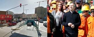 Insólito: Macri construyó un paso nivel que no sirve para algo muy importante/ DyN