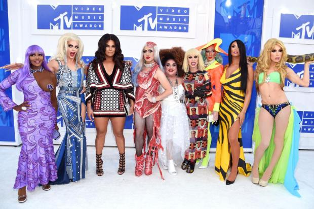 <p>The most iconic moments in MTV VMAs history just came back courtesy of the cast of <i>Ru Paul's Drag Race. (Photo: Getty Images)</i></p>