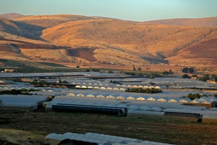 The fertile Jordan Valley, which Israel plans to annex along with Jewish settlements in the occupied West Bank, is home to 10,000 settlers, who live alongside some 65,000 Palestinians