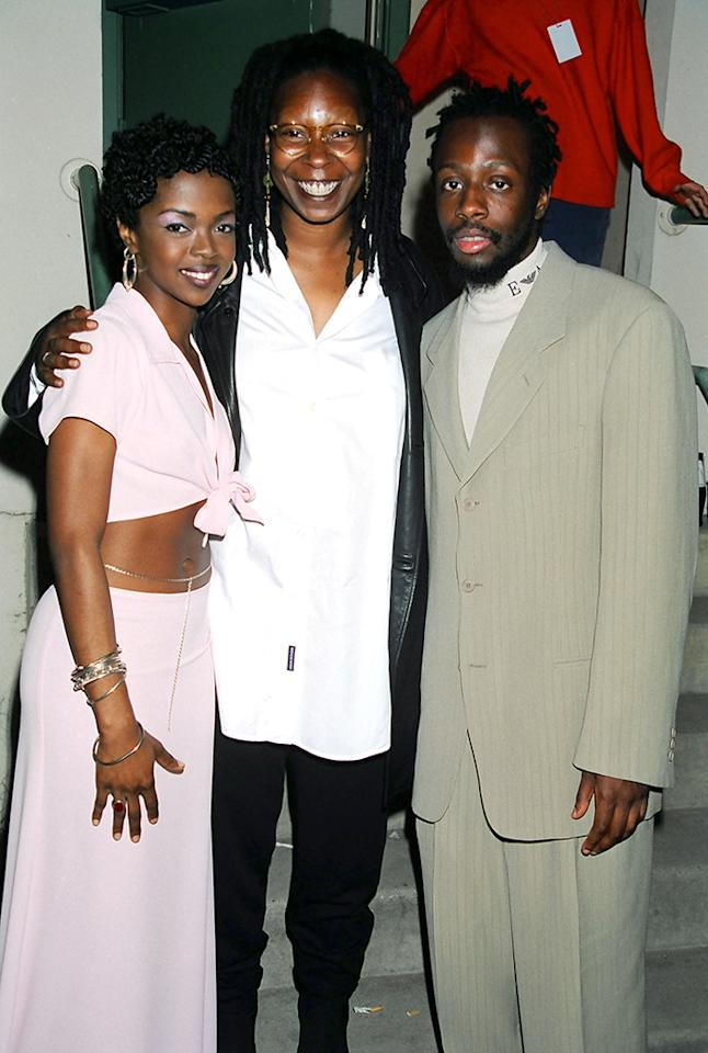Lauryn Hill, Whoopi Goldberg, and Wyclef Jean