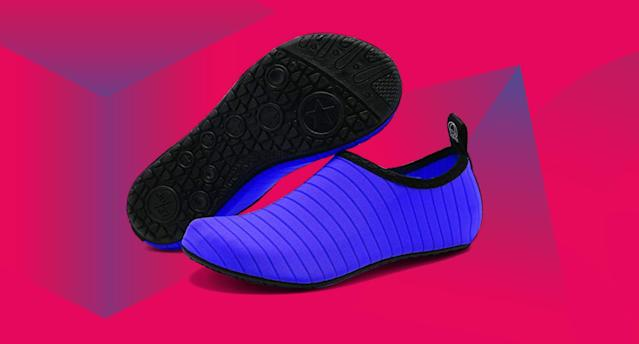 These water shoes come in over 40 colors and patterns—and adult and kid sizes. (Photo: Amazon)