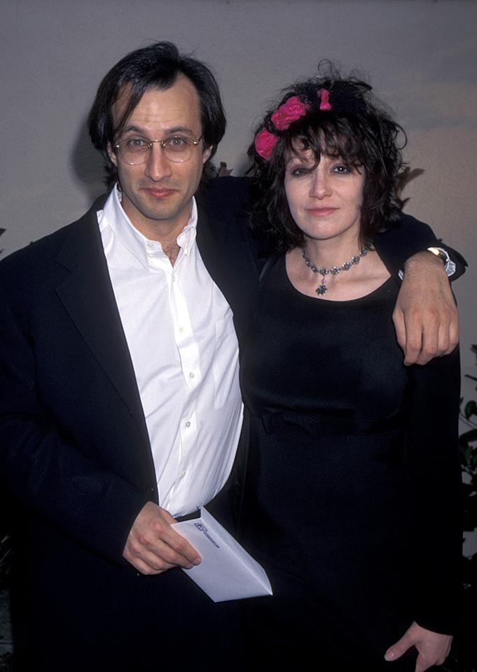 Bronson Pinchot and Amy Heckerling