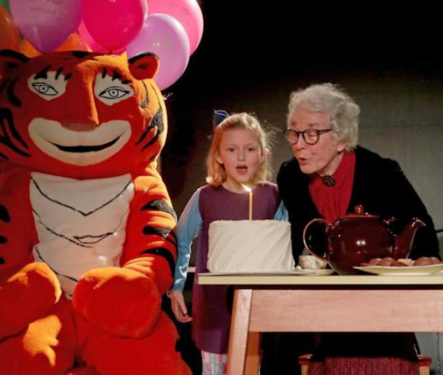 Judith Kerr Author Of The Tiger Who Came To Tea Accompanied By Kitty Forbes