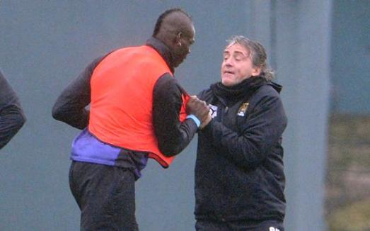 Image result for balotelli mancini