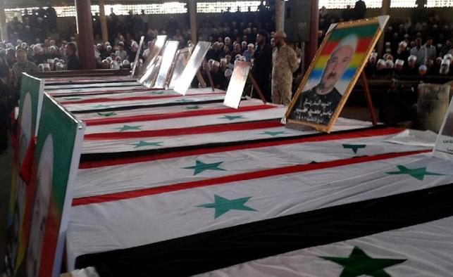 An attack in Syria's southern Sweida province on July 25, 2018 claimed by the Islamic State group killed more than 250 people, most of them civilians