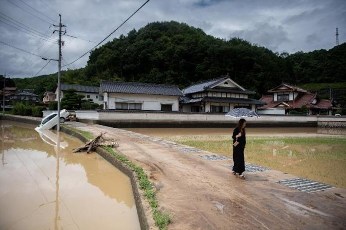 Over two million people have been told to evacuate, but the orders are not mandatory and many remained at home (AFP Photo/Martin BUREAU)