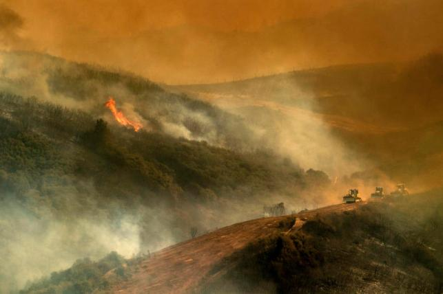 Still raging: Largest wildfire in California history grows