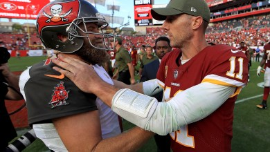 'Single worst text' Ryan Fitzpatrick ever sent was to Alex Smith after leg injury