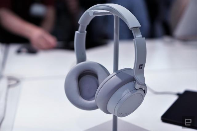 Surface Headphones hands-on: Cortana, bring the noise | Engadget