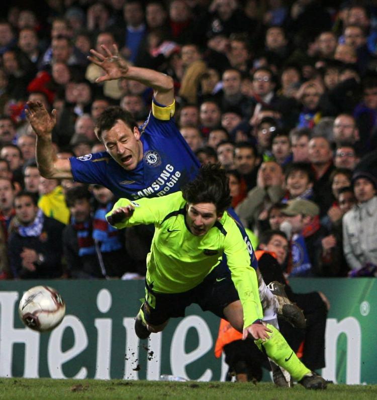 Five classic Chelsea v Barcelona Champions League ties