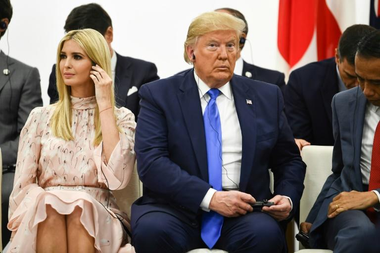 Trump grabbed the G20 headlines with a surprise tweet saying he was open to meeting Kim Jong Un at the demilitarised zone between North and South Korea (AFP Photo/Brendan Smialowski)