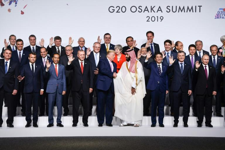 The US-China trade war has cast a shadow over the G20 leaders summit, which was originally created to craft a united global response to the Lehman Brothers crisis (AFP Photo/Brendan Smialowski)