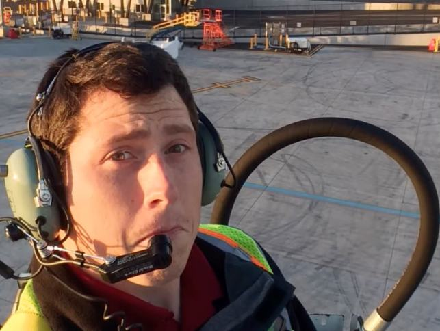 Friendly tone belied desperate acts of Seattle plane thief
