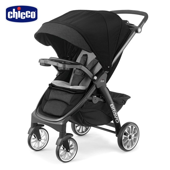 chicco-Bravo極致完美手推車限定版-晶墨黑0m+適用| 推車| Yahoo奇摩購物中心