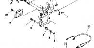 Remote Control Attachment для лодочного мотора YAMAHA