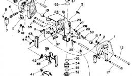 Запчасти для лодочного мотора YAMAHA 6MLHP 1991 г. купить
