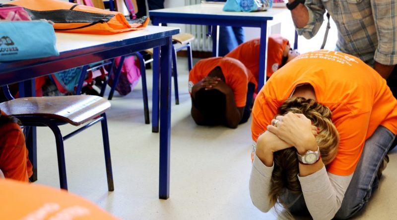 Erdbeben sind Teil von Sensibilisierungs-Übungen in Schulen Portugals