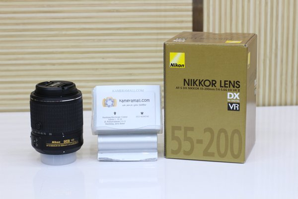 LENSA NIKON AFS 55-200MM VR DX