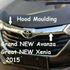 Aksesoris Grand New Avanza Cover Jok Jual Grill Cek Harga Di Pricearea Com Mobil Hood Moulding List Atas Chrome Kap Mesin Bukalapak