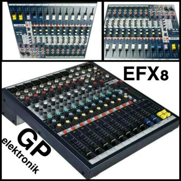 AUDIO MIXER SOUNDCRAFT EFX8