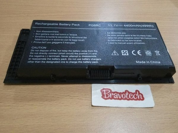 PROMO REPLACEMENT LAPTOP BATTERY DELL PRECISION M4600 M4700 M4800 M6600