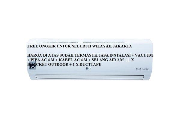 stock baru PROMO AC LG SMART INVERTER 1 PK T10EMV FREON R410A 2501000 WATT