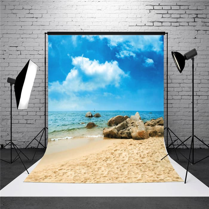 Charcoal Grey Earth Yellow Photography Backdrop Photo Backdrops Portrait Background Studio Props AM000024 ALUONI 5x3ft Adventure Awaits Text Book Ocean Waves