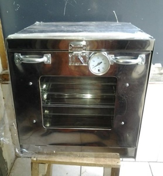 OVEN TANGKRING STAINLESS THERMO 40X40X42 BEST OVEN
