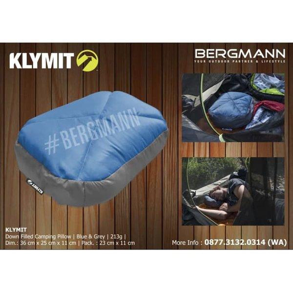 bantal hiking klymit pillow top down filled autorized dealer