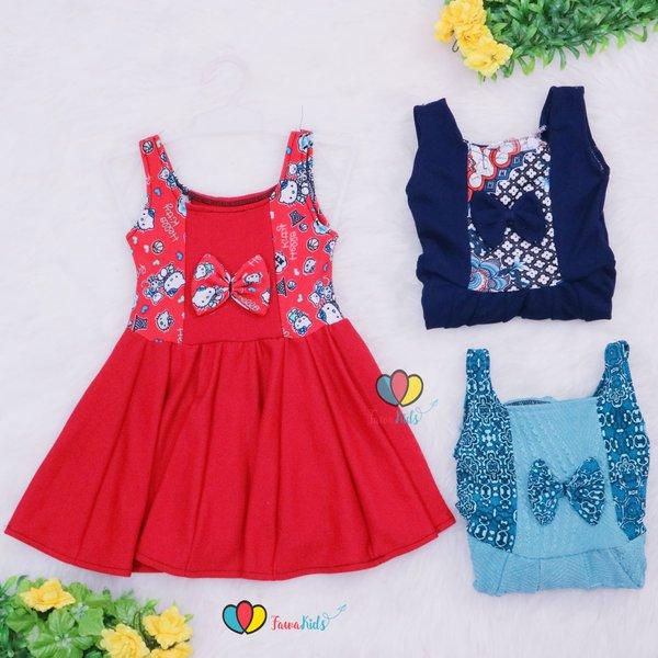 Tanktop Clairine uk 1-2 th  Dress Anak Perempuan Murah Baju Anak Dress Import Lucu Adem Kensi Gaun