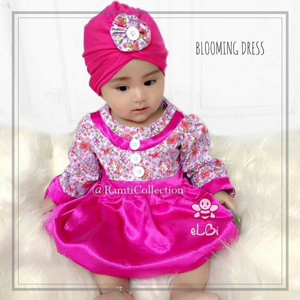 eLBi-Baju bayi lucu -Little Bee boutique I blooming