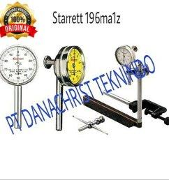 universal back plunger dial indicator starrett 196ma1z [ 1000 x 1000 Pixel ]