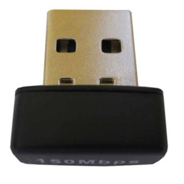 Berkualitas KexTech USB Wireless  Wifi Adapter 150Mbps  RT7601    WUL150   Black