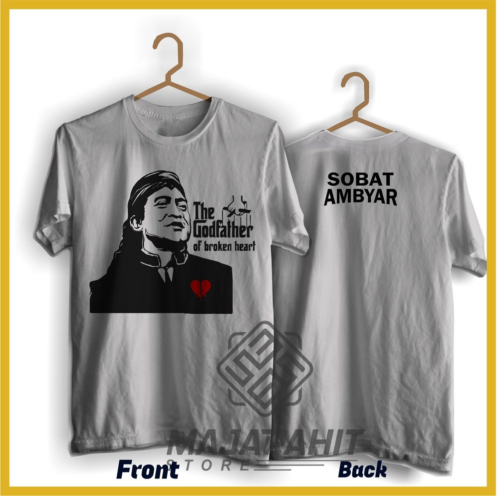 Jual Kaos Didi Kempot The Godfather Of Broken Heart Kaos Sobat